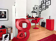 感受艺术魅力的单身公寓图片赏析