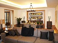 140三居室简约混搭个性装修设计图