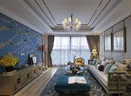 豪华宽敞的客厅吊顶装修效果图