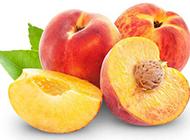 香甜诱人的桃子图片