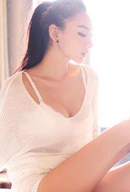 中国女模特金美辛moko私房内衣写真