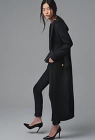 中国名模刘雯秋冬潮流搭配 酷似欧美长腿美女
