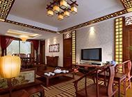 新古典中式客厅装修效果图低调大气