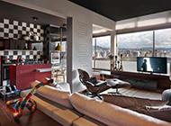 复式公寓现代时尚奢华装修效果图