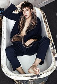 型男李敏镐奢华低调风格写真