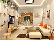 时尚客厅简约装修风格效果图片典雅明亮