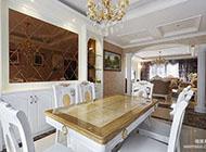 180平方米打造欧式田园风格两厅四居室案例