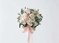 婚礼梦幻玫瑰插花图片