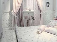卧室窗帘精美设计图片