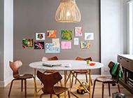 现代简约时尚二居室装修效果图