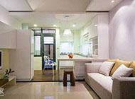 72平方米简约舒适跃层式住宅图片