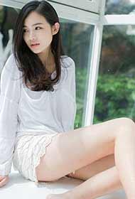 白衣少女纯白色梦幻唯美清新私房照