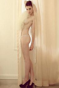 超美俄罗斯模特大尺度人体艺术写真