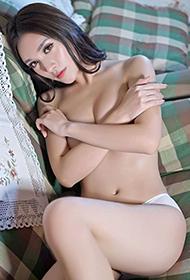嗲囡囡模特陆芷翊lucia尽显小女人妩媚图片