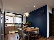 80平米小户型二居室现代简约装修效果图