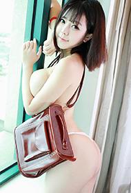 秀人网刘飞儿Faye变身性感学生妹写真套图
