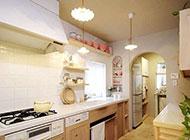 室内家居厨房简约装修设计图