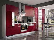 新房现代中式厨房装修设计图片