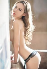 丁字裤美女徐可私房性感写真集