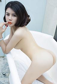 尤果网短发女神游子熙火辣狂野写真