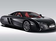 限量版的迈凯轮跑车摄影图片