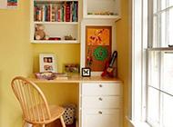 卧室书房一体化清爽格局设计方案欣赏