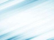 柔美有动感的蓝色条纹背景图