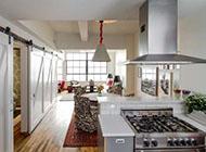 现代混搭风格公寓阁楼装修效果图