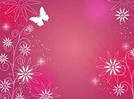 喜庆的蝴蝶背景素材