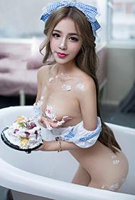 尤果女神三美浴缸真空私房妙曼动人