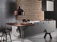 敞开式厨房餐厅设计现代科技感强