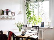 北欧风格二居室白色家居装饰
