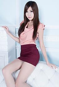 美腿御姐Chu短裙肉丝秀长腿