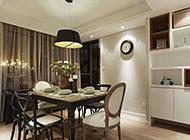 美式和现代简约风格的混搭新房装修案例