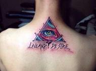 彩色艺术抽象纹身图案