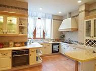 简欧厨房装修效果图浪漫奢华