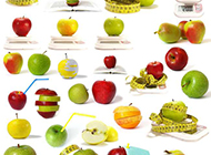 水果大全可口精美高清背景素材