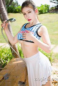 中国漂亮模特于姬Una性感旅拍套图