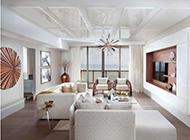 豪华公寓混搭现代装修效果图