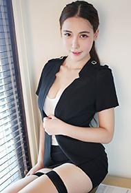 美媛馆熊吖BOBO丝袜制服化身美女秘书
