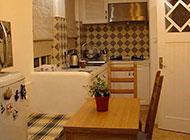 宜家小户型田园厨房装修设计简约清新