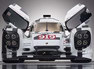 保时捷 Hybrid Porsche 919纯白四驱车高清壁纸