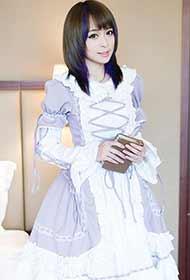 清新美眉可爱女仆装组图