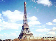 埃菲尔铁塔意境图片