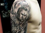 二郎神纹身_二郎神杨戬纹身图片_二郎神杨戬纹身手稿