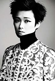 短发帅气女明星李宇春演绎另类时尚