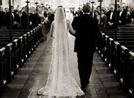 好看的黑白婚礼照片图片
