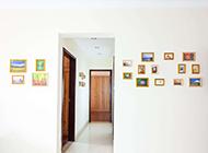 相片墙室内装修设计效果图