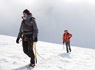 高清壁纸图片唯美雪山攀登