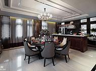 欧式奢华三居室小洋楼设计效果图